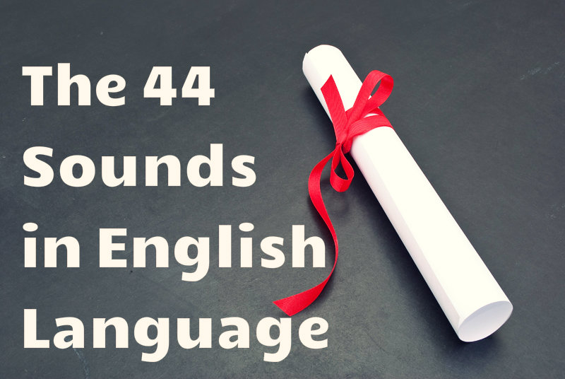 44 sounds in English language handout