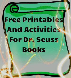Activities for Dr. Seuss Books