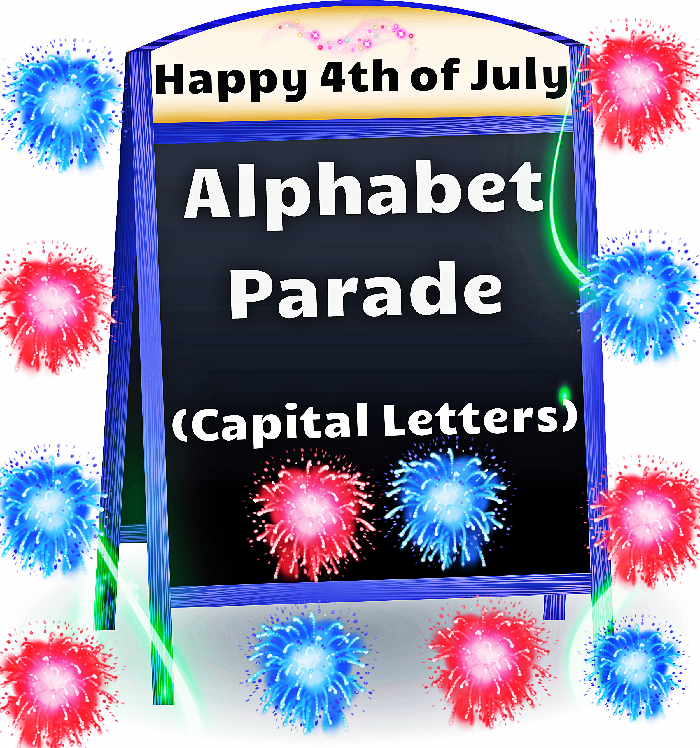 Alphabet Parade Capital Letters