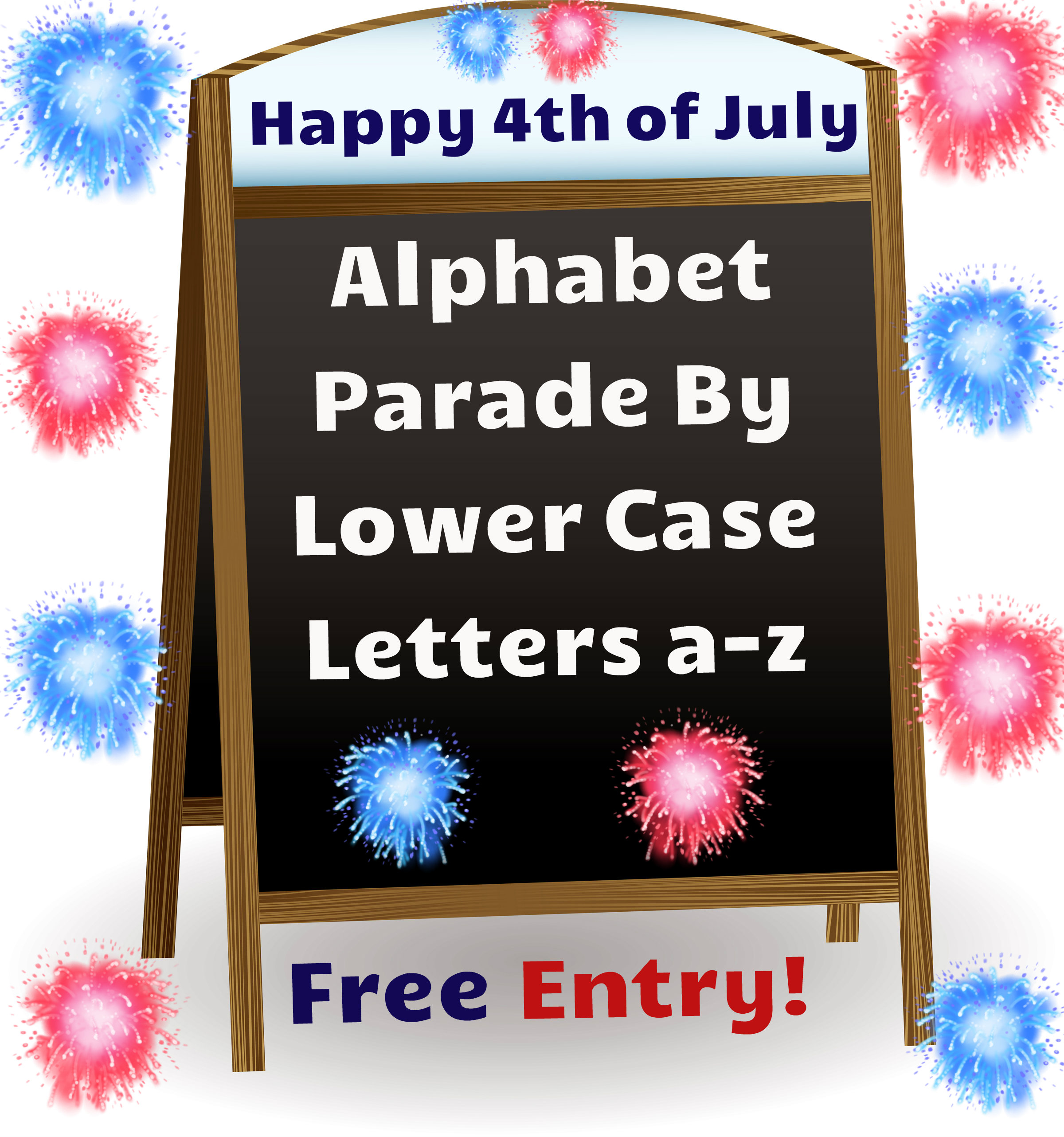 Alphabet Parade Lower Case a-z