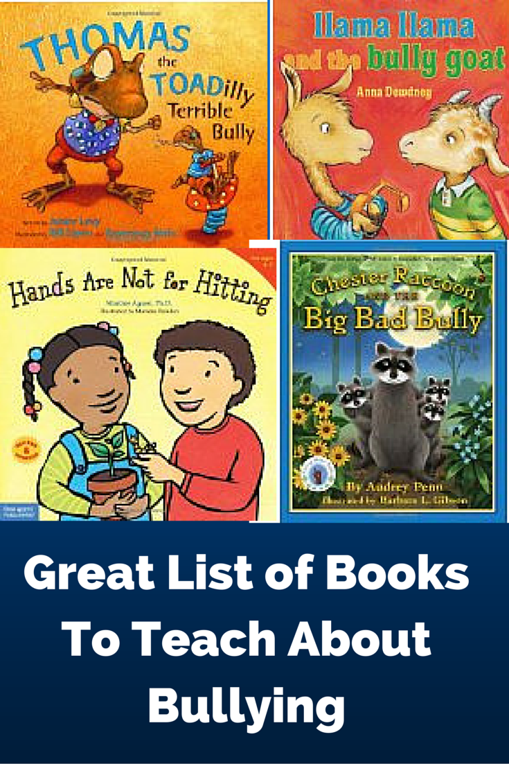 Children's books about bullying