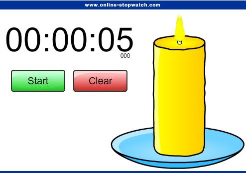 Candle Timer for Classroom