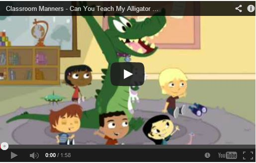 Classroom Manners Video