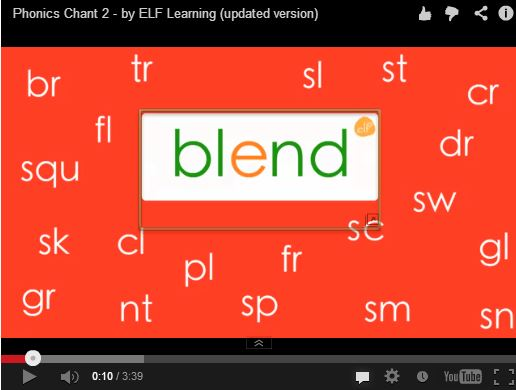 Consonant Blends Video