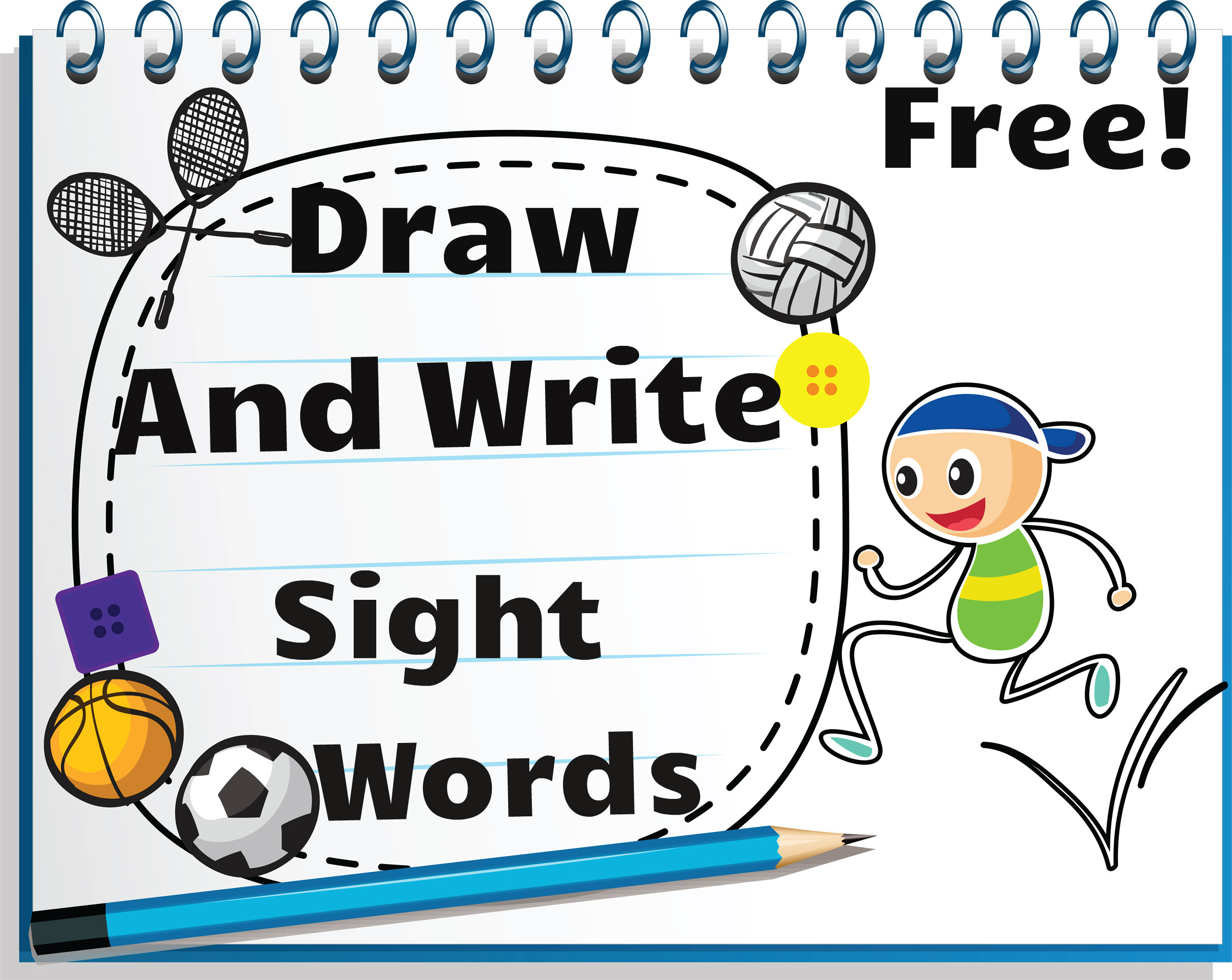 Draw and write sight words