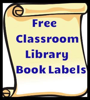 Free Classroom Library Book Labels