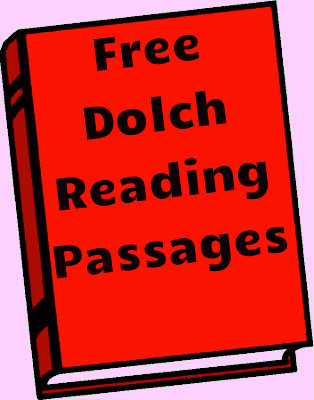 Free Dolch Reading Passages