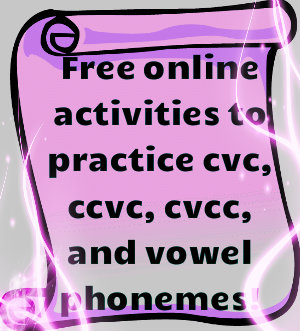 Free Online Phonics Activities