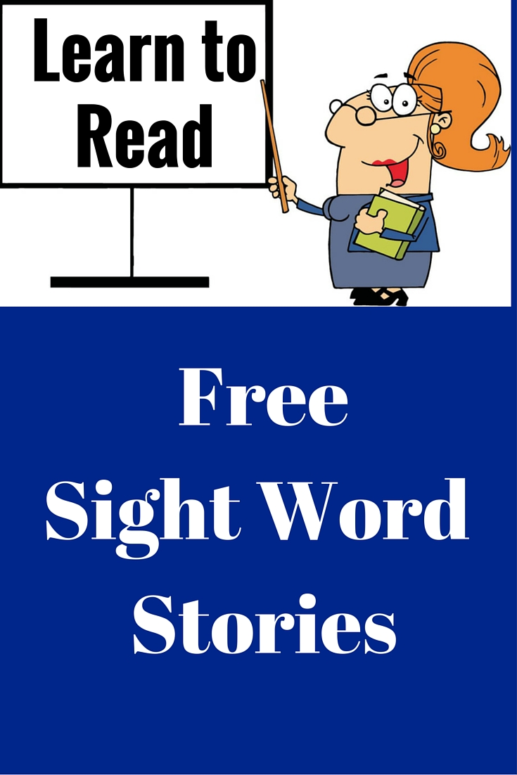 Free Sight Word Stories