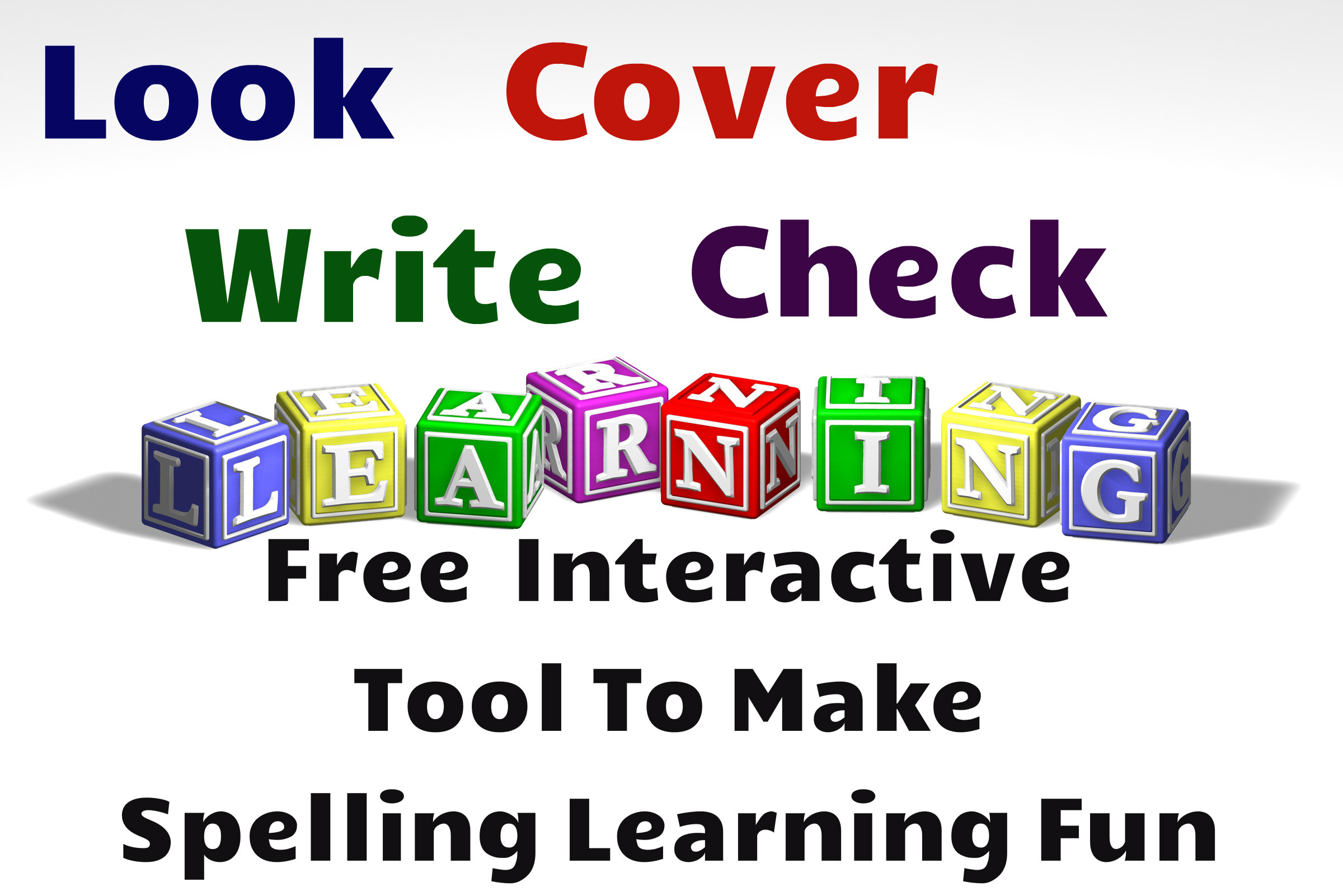 Free Spelling Learning Tool