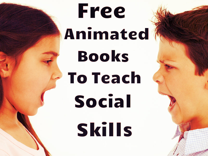 Free animated books to teach social skills