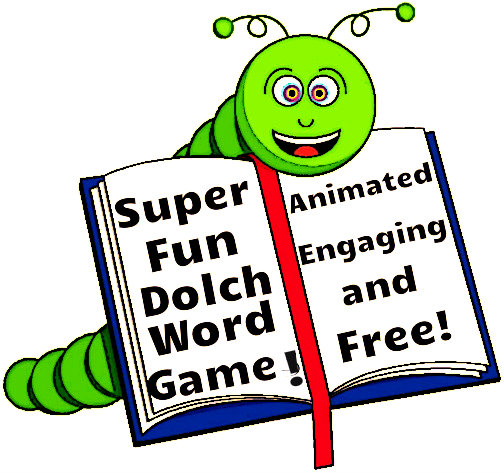 Free Animated Dolch Word Game