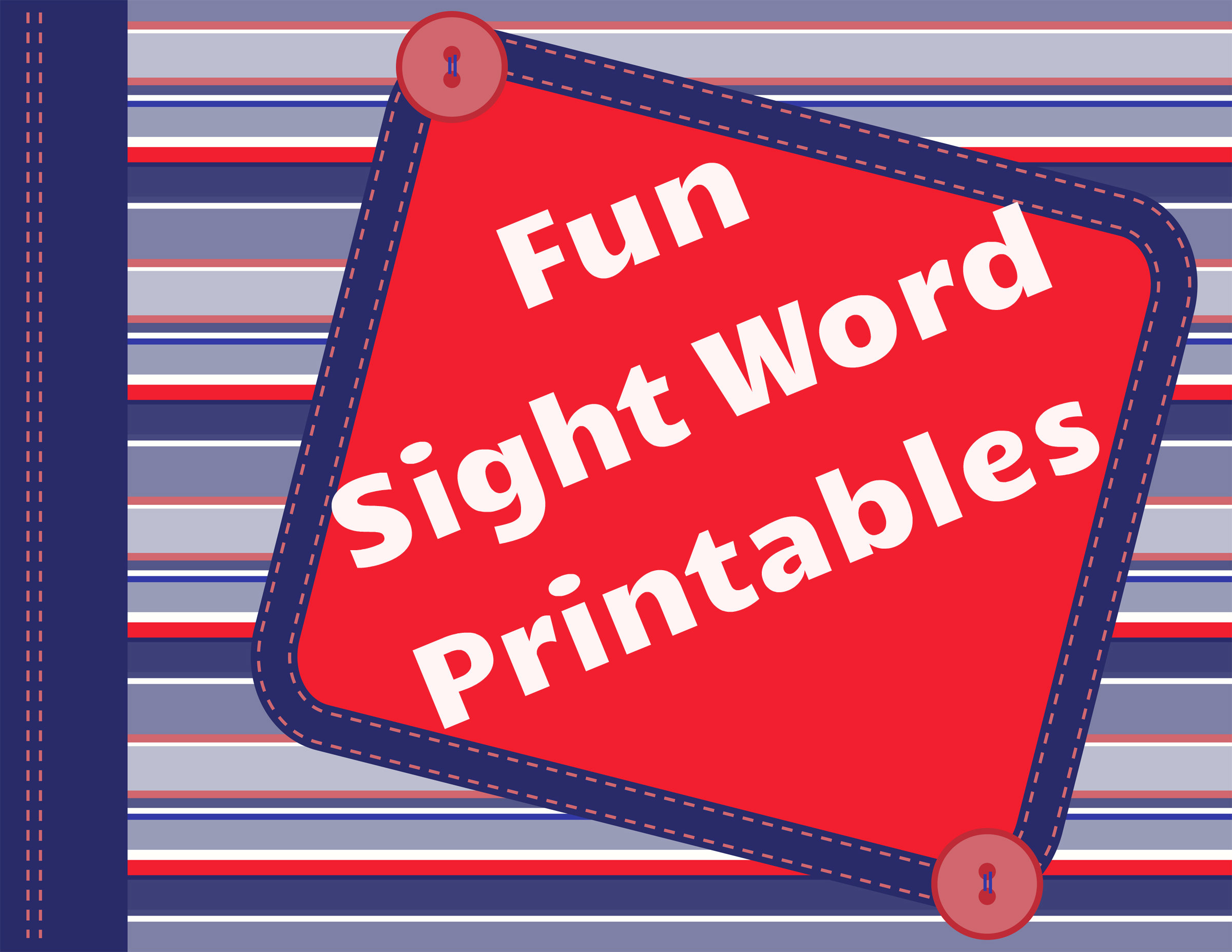 Sight Word Search for Pre-K and Kindergarten.