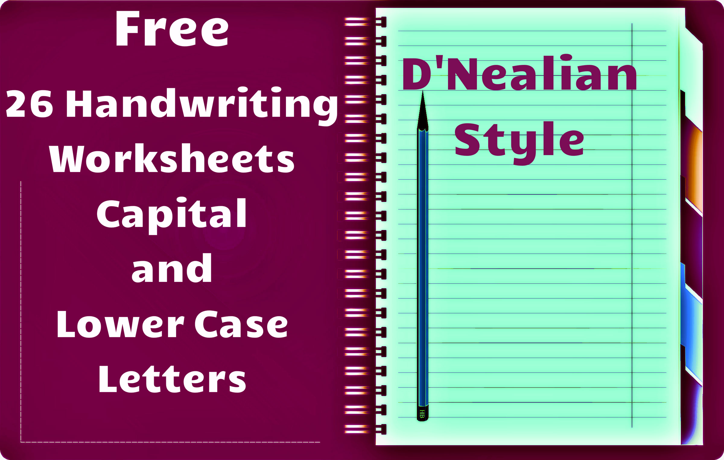 Worksheets D Nealian Handwriting Worksheets free handwriting worksheets dnealian style