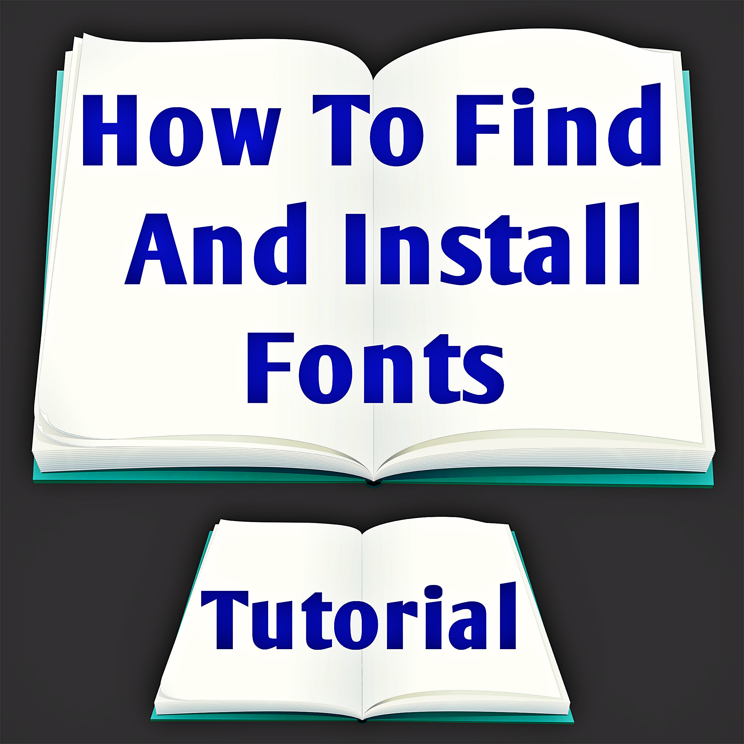 How to Find and Install Fonts