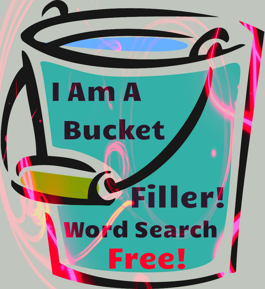 I Am A Bucket Filler Word Search