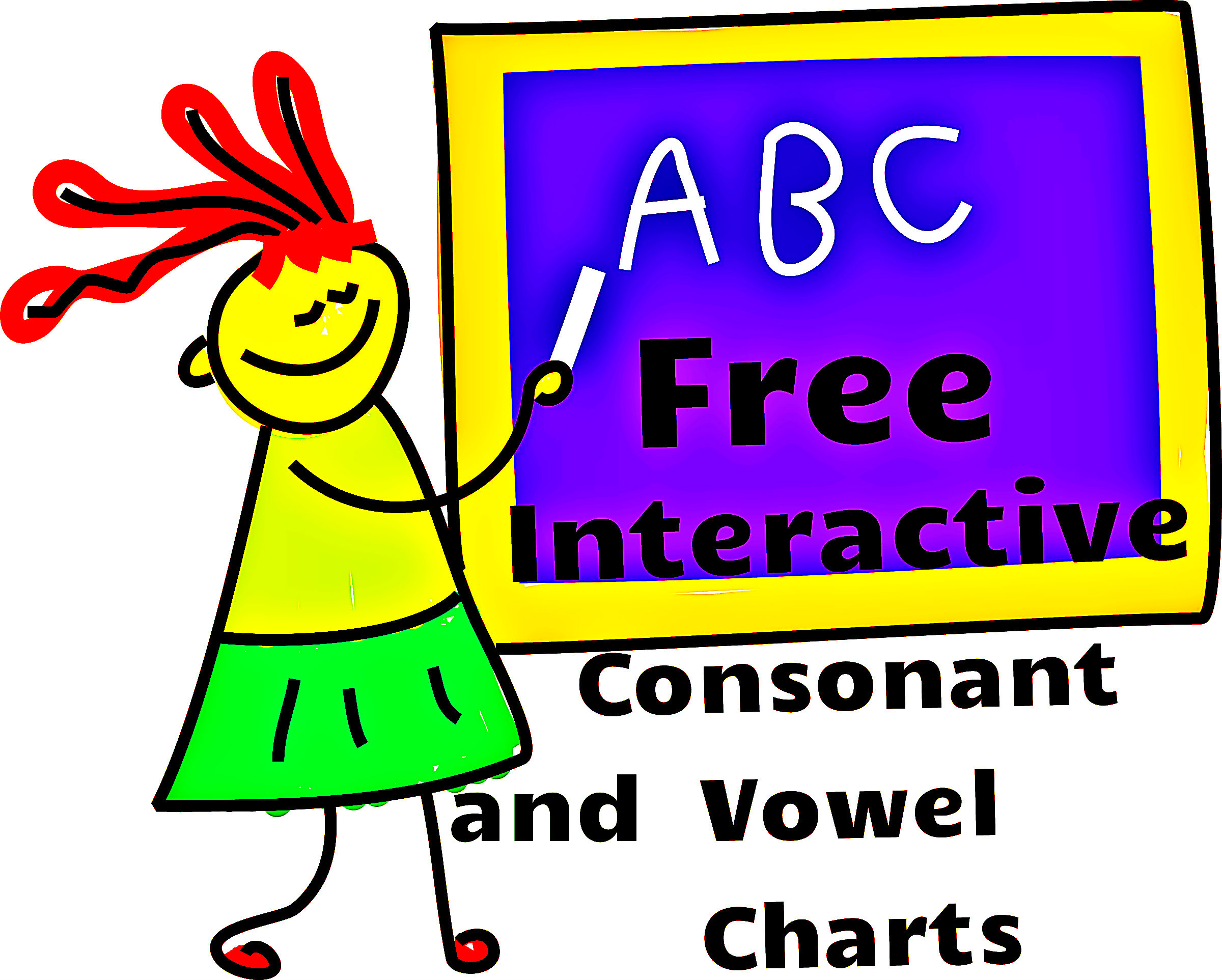 Free interactive consonant and vowel charts