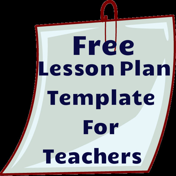 Free Lesson Plan Template – Common Core Lesson Plan Template