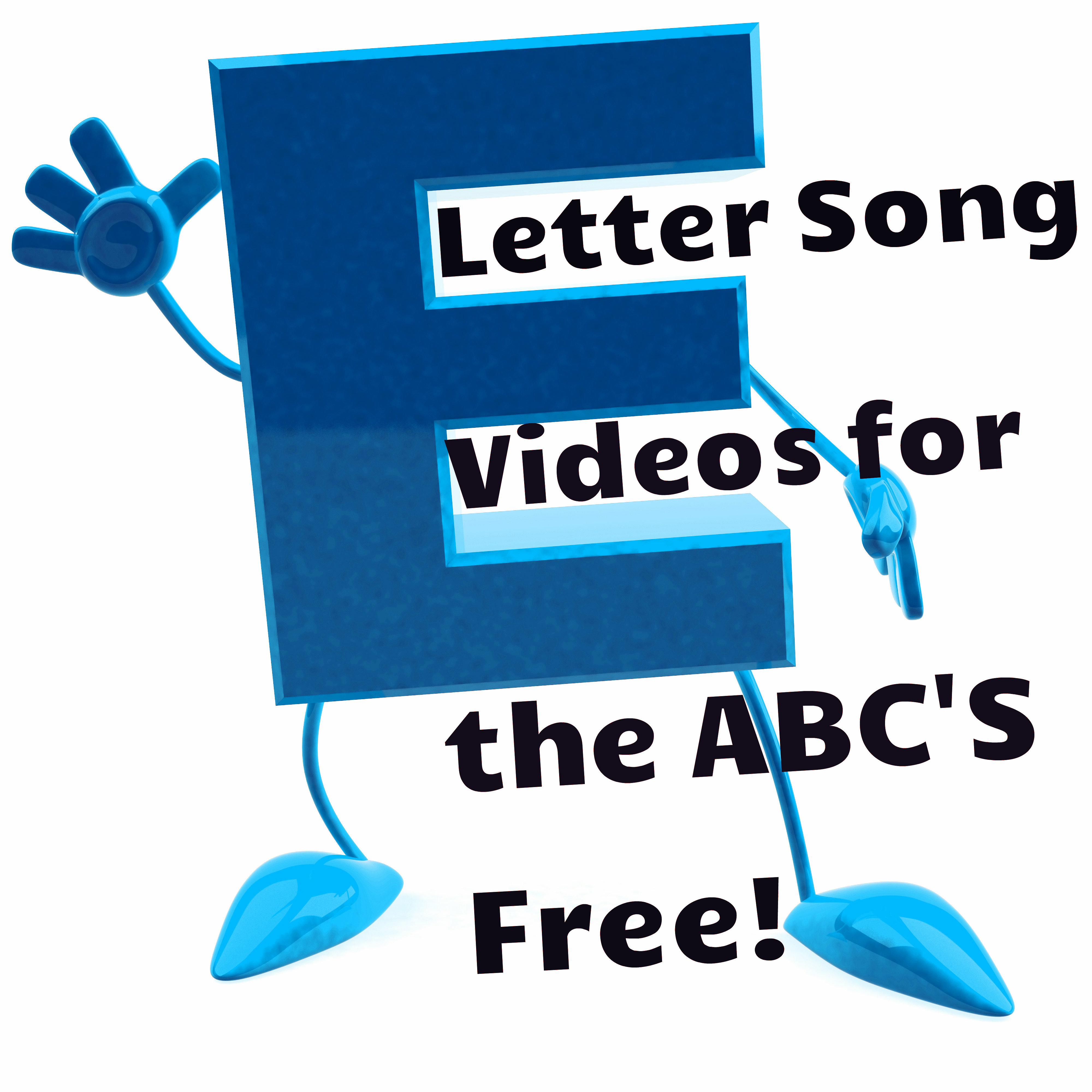 Letter song videos for the ABC's
