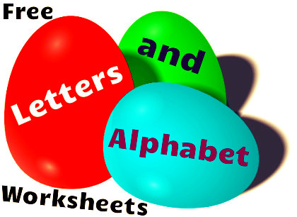 Free letters and alphabet worksheets