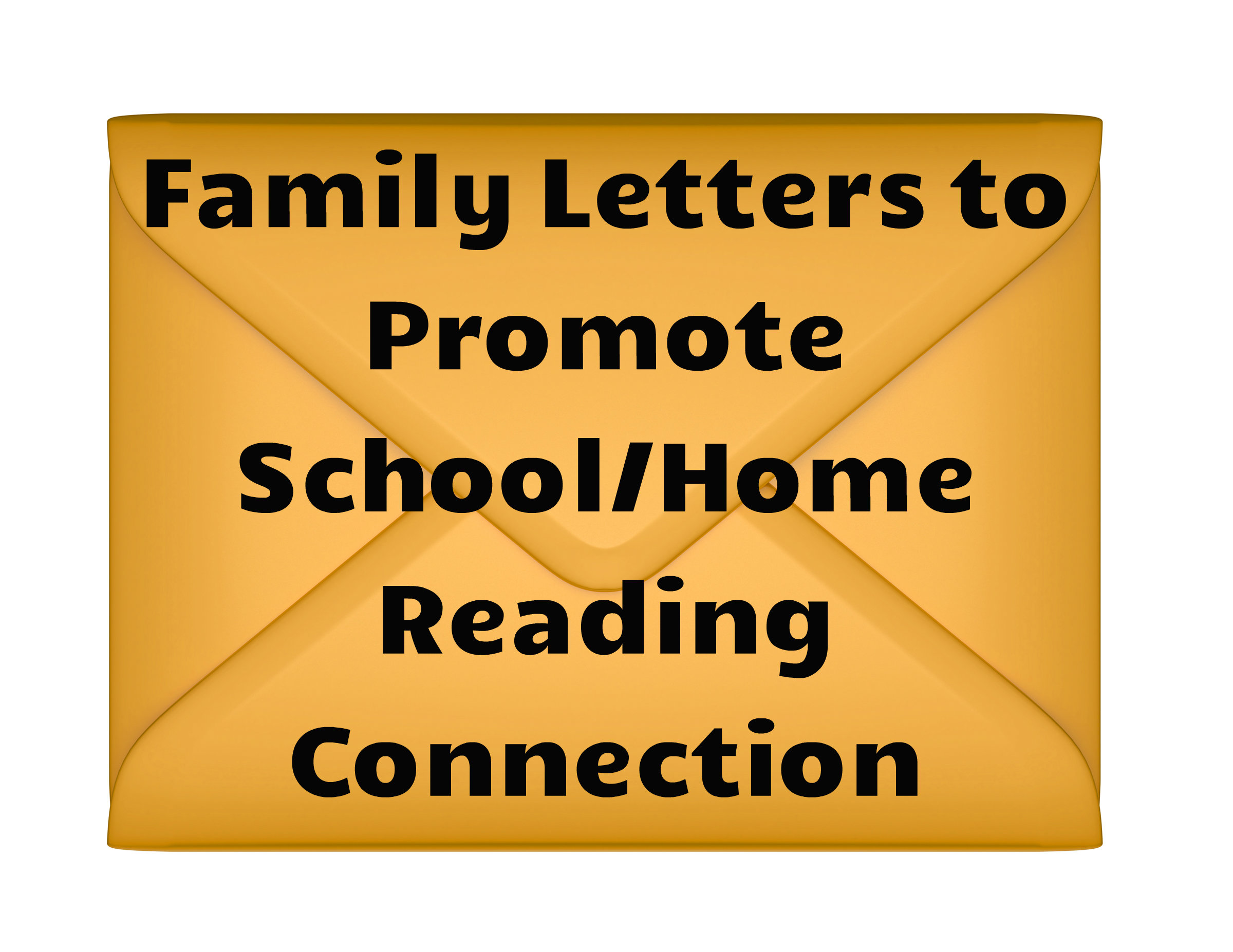 Free letters to promote school home reading.