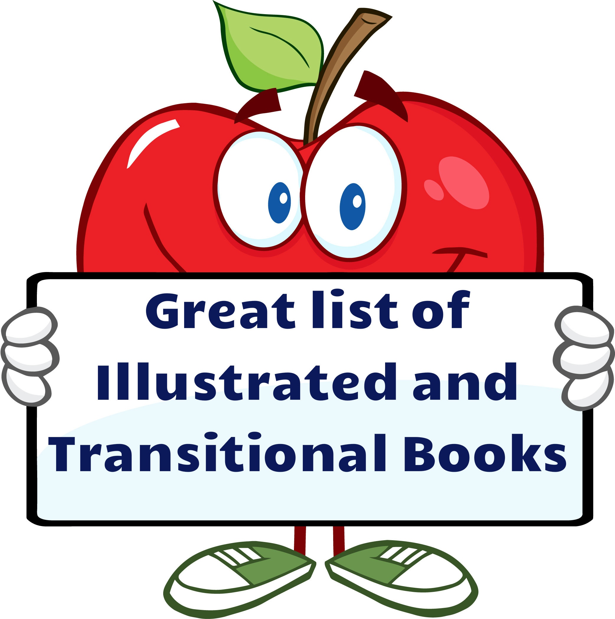 List of Illustrated and transitional books