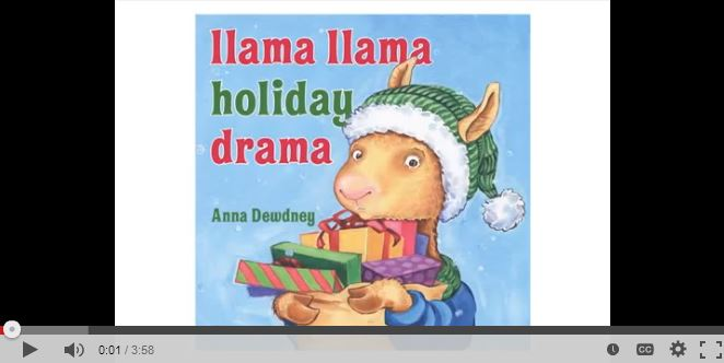 Online read aloud of Llama Llama Holiday Drama