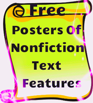 Nonfiction Text Features Posters 1