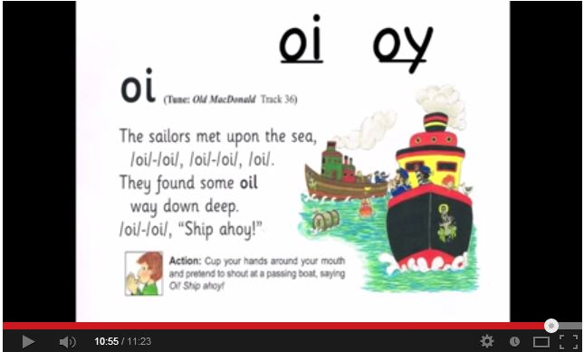 More phonics songs and rhymes