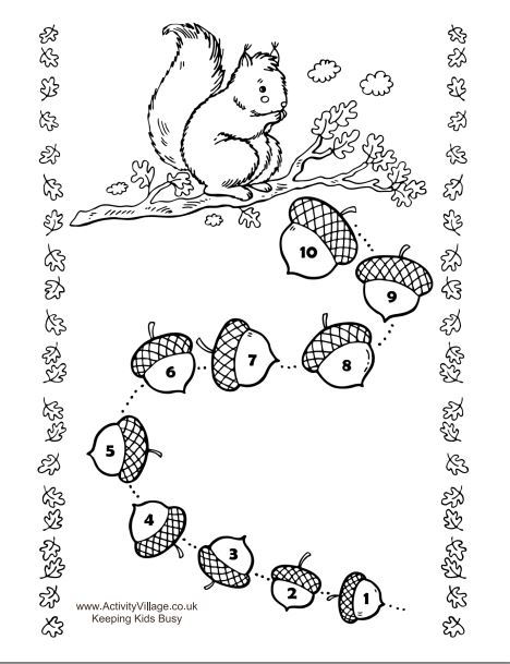 Reward Chart Squirrel
