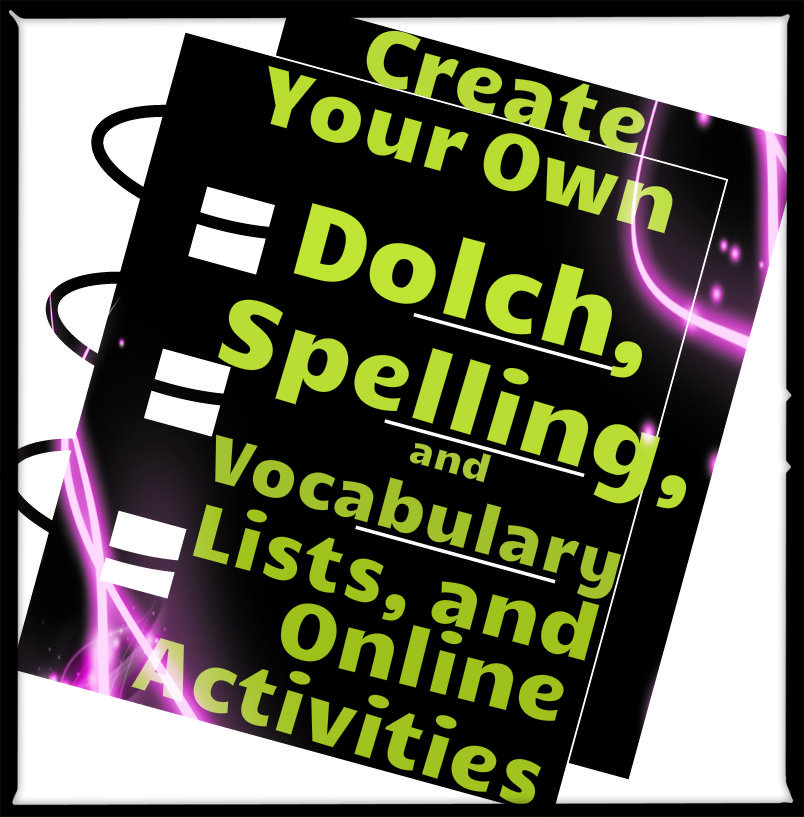Vocabulary and Spelling Activities