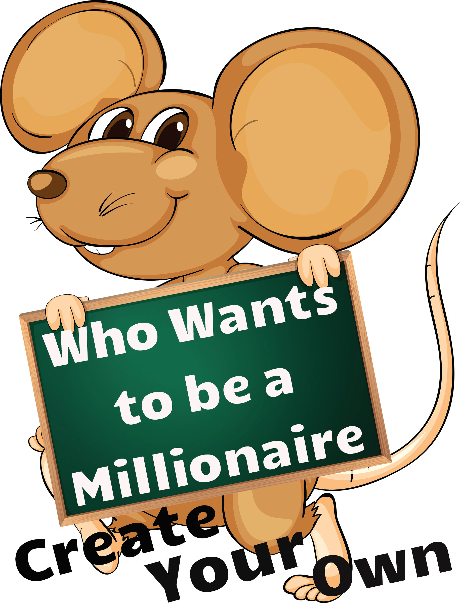 Free Game Template for Who wants to be a millionaire