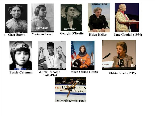 Women's History Month Slide Show