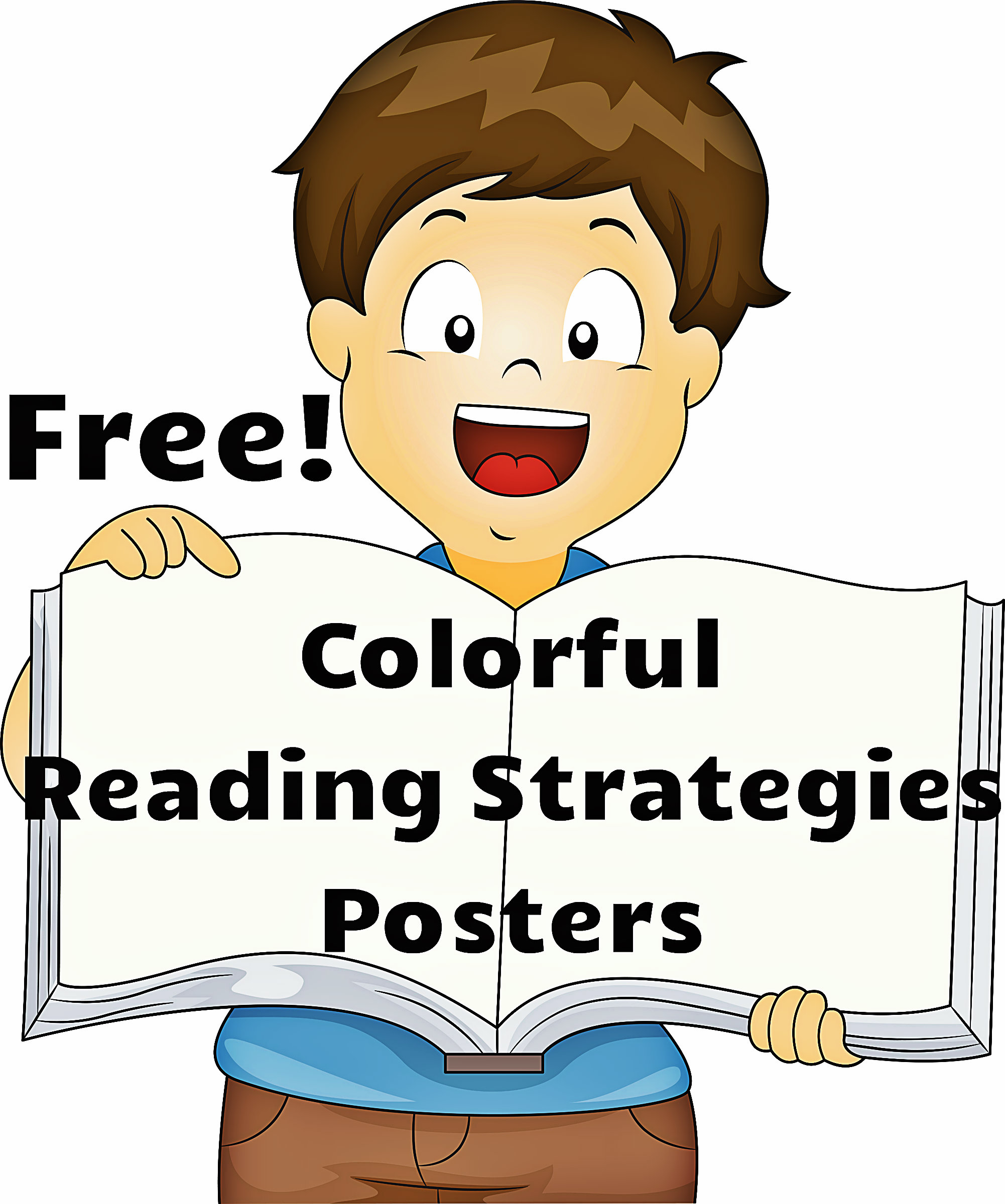 Free word attack strategies posters