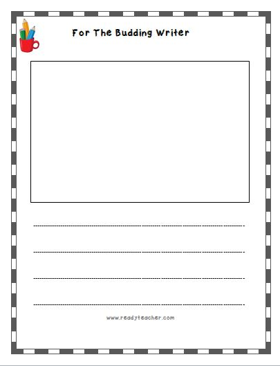 Template For Lined Paper Primary Handwriting PaperPrintable – Template Lined Paper