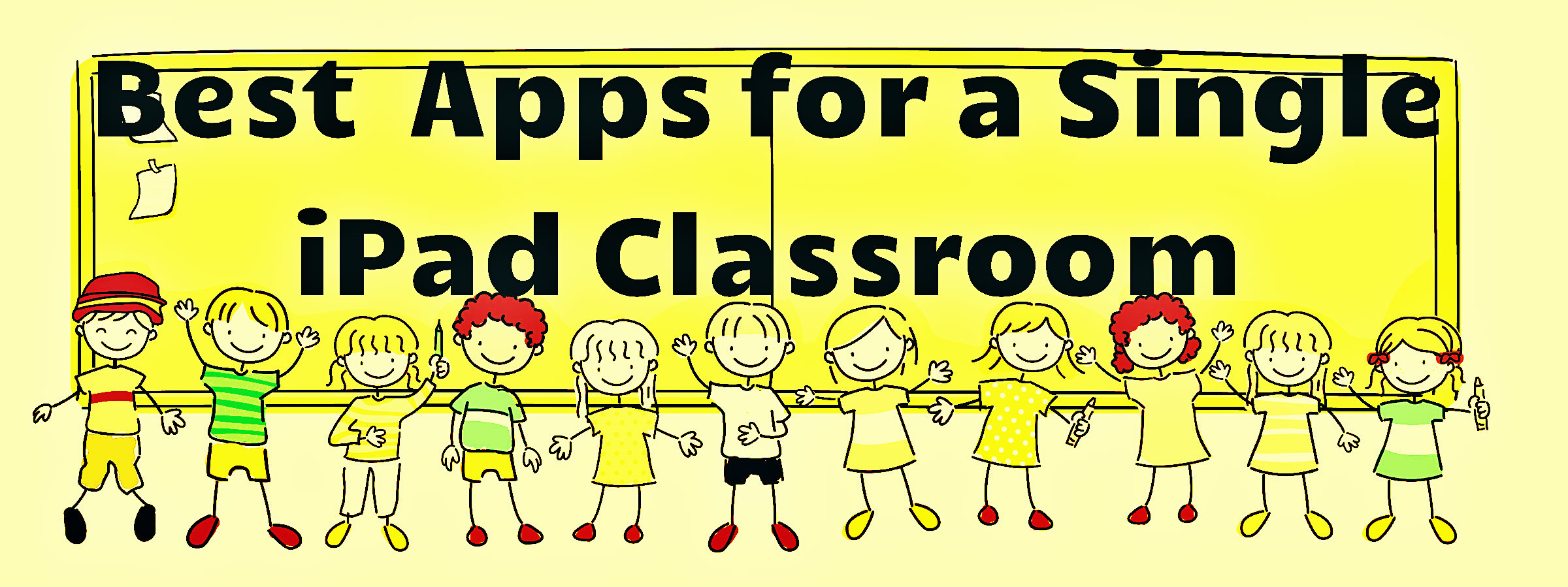 Apps for a single ipad classroom