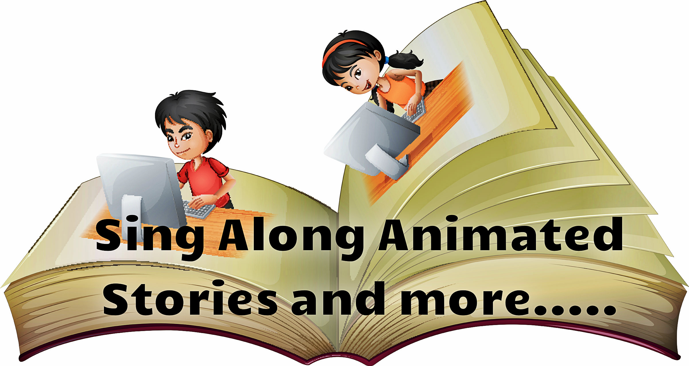 Animated interactive stories for children