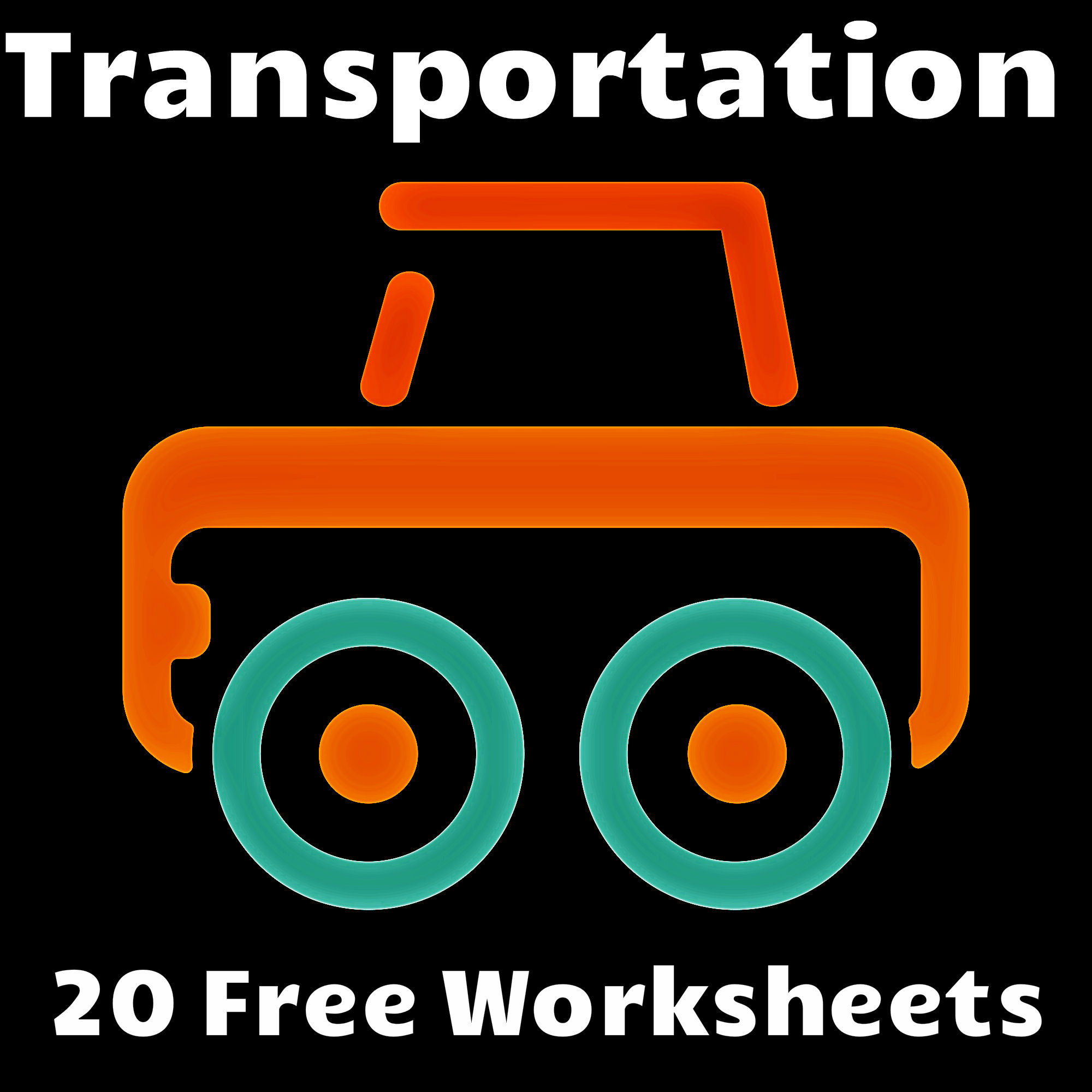 Transportation Free Worksheets